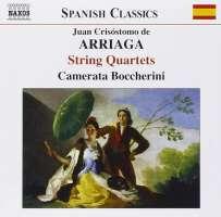 ARRIAGA: String Quartets (Complete)