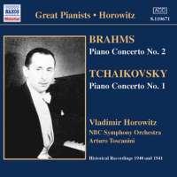 BRAHMS / TCHAIKOVSKY: Piano Concertos
