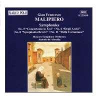 MALIPIERO: Symphonies nos 5, 6, 8 & 11