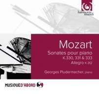 "WYCOFANY   Mozart: Sonates pour piano K.330, 331 ""Alla turca"" & 333"