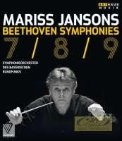 Beethoven: Symphonies 7, 8, 9 / Mariss Jansons