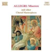 ALLEGRI: Miserere & Other