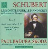 Schubert: Piano Sonatas Nos 3 & 15
