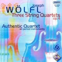 Wölfl: Three string quartets