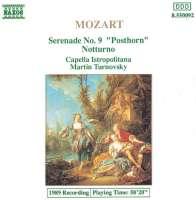 """Mozart: """"Posthorn""""Serenade, Notturno"""