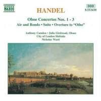 HANDEL: Oboe Concerti nos.  1 - 3