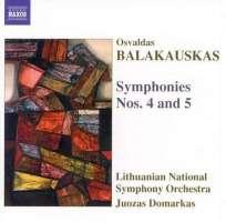 BALAKAUSKAS: Symphonies Nos. 4 and 5