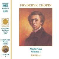 CHOPIN: Mazurkas (vol. 1)
