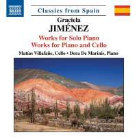Jiménez: Works for Solo Piano; Works for Piano and Cello