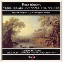 Schubert/Mozart: Violin & Piano Sonata-Variations K.359