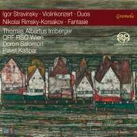 Stravinsky: Violin Concerto; Duos; Rimsky-Korsakov: Fantasy
