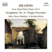BRAHMS: Four Hand Piano Music vol. 8
