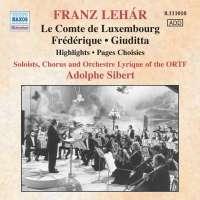 lehar: Le Comte De Luxembourg, Frederique