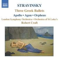 STRAVINSKY: Three Greek ballets