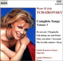 TCHAIKOVSKY: Complete Songs Vol. 3