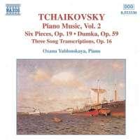 TCHAIKOVSKY: Piano Music vol. 2
