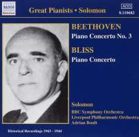 Beethoven: Piano Concerto No. 3 / Bliss: Piano Concerto