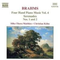 BRAHMS: Four Hand Piano Music