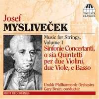 Myslivecek: Works for Strings, Vol 1