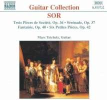 SOR: 3 Pieces de Societe, Op. 36, 6 Petites Pieces, Op. 42