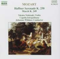 Mozart; Haffner Serenade, K. 250, March, K. 249