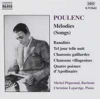 POULENC: Melodies ( Songs )