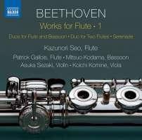 Beethoven: Works for Flute Vol. 1