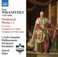 Wranitzky: Orchestral Works Vol. 1