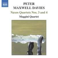 DAVIES: Naxos Quartets Nos. 3 and  4