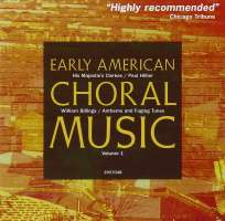 Early American Choral Music vol. 1