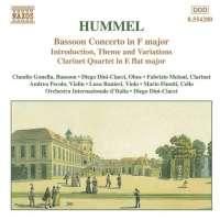 HUMMEL: Bassoon Concerto; Clarinet Quartet