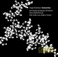 Holmboe: Concerto for Viola, Concerto for Orchestra, Concerto for Violin No. 2