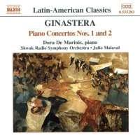 GINASTERA: Piano Concertos Nos. 1 and 2