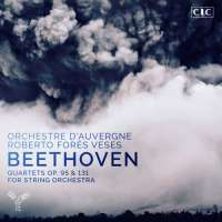 WYCOFANY   Beethoven: Quartets op. 95 & 131 for string orchestra