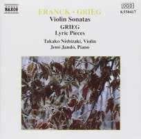 FRANCK / GRIEG: Violin Sonatas