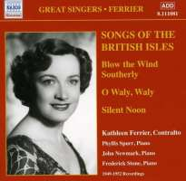 Ferrier: Songs of the British Isles