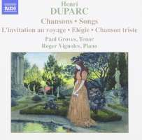 DUPARC: Songs for Voice and Piano