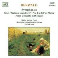 Berwald: Symphonies nos. 3 & 4