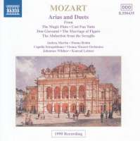 Mozart: Operatic Arias and Duets