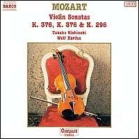 Mozart:  Violin Sonatas  17, 24, 26