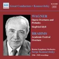 WAGNER , BRAHMS Opera Overtures
