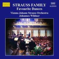Strauss Family: Favourite Dances - Johann Strauss I & II, Josef Strauss