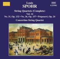 Spohr: String Quartets Vol. 14 - Nos. 31 and 36