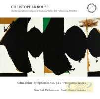 Rouse: Odna Zhizn Symphonies Nos. 3 & 4 Prospero's Rooms