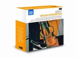 GREAT VIOLIN CONCERTOS (10 CD)