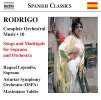 Rodrigo: Songs and Madrigals
