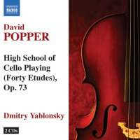 Popper: High School of Cello Playing (Forty Etudes) op. 73