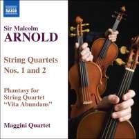 ARNOLD: String Quartets Nos 1 & 2