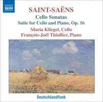 SAINT-SAENS: Cello Sonatas Nos. 1 and 2, Cello Suite