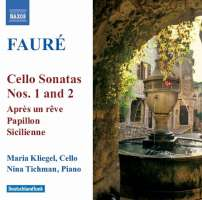 Faure:: Cello Sonatas Nos. 1 & 2